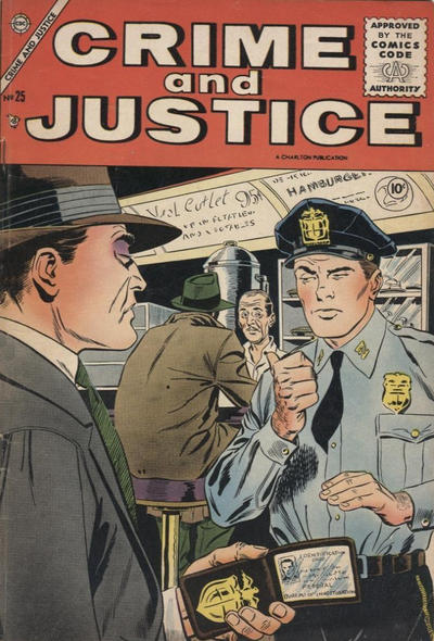 Cover for Crime and Justice (Charlton, 1951 series) #25