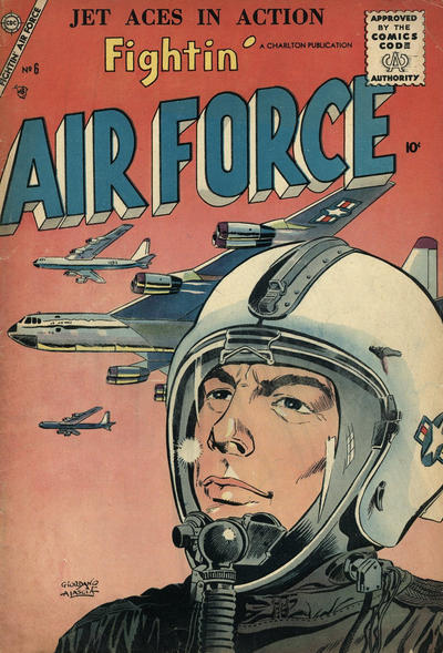 Cover for Fightin' Air Force (Charlton, 1956 series) #6