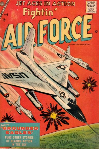 Cover for Fightin' Air Force (Charlton, 1956 series) #8