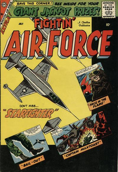 Cover for Fightin' Air Force (Charlton, 1956 series) #16