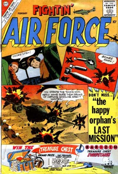 Cover for Fightin' Air Force (Charlton, 1956 series) #25
