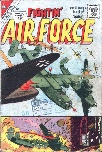 Cover for Fightin' Air Force (Charlton, 1956 series) #32
