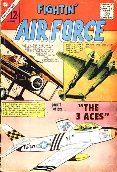 Cover for Fightin' Air Force (1956 series) #47