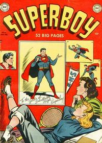 Cover Thumbnail for Superboy (DC, 1949 series) #6