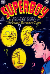 Cover for Superboy (1949 series) #15