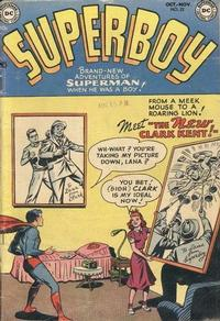 Cover Thumbnail for Superboy (DC, 1949 series) #22
