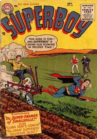 Cover Thumbnail for Superboy (DC, 1949 series) #43