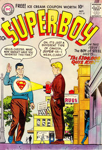 Cover for Superboy (1949 series) #60