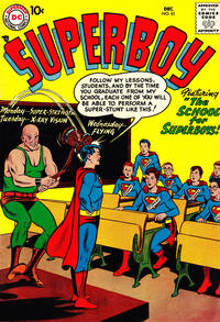 Cover for Superboy (1949 series) #61