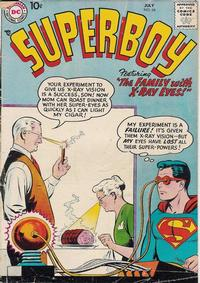 Cover Thumbnail for Superboy (DC, 1949 series) #66