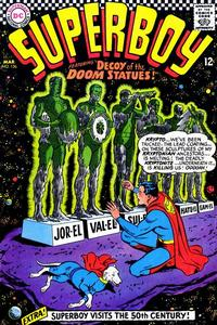 Cover for Superboy (1949 series) #136