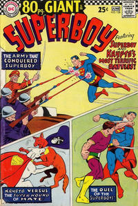 Cover for Superboy (1949 series) #138