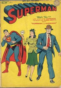 Cover Thumbnail for Superman (DC, 1939 series) #30