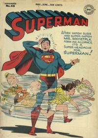 Cover Thumbnail for Superman (DC, 1939 series) #40