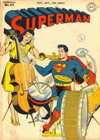 Cover for Superman (1939 series) #42