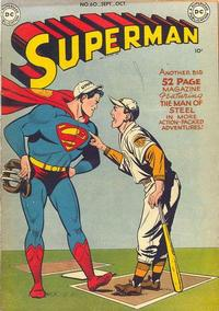 Cover Thumbnail for Superman (DC, 1939 series) #60
