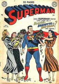 Cover for Superman (1939 series) #61
