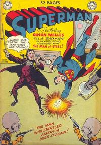 Cover for Superman (DC, 1939 series) #62