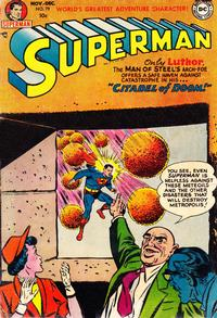 Cover Thumbnail for Superman (DC, 1939 series) #79