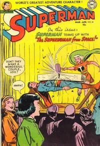 Cover Thumbnail for Superman (DC, 1939 series) #81