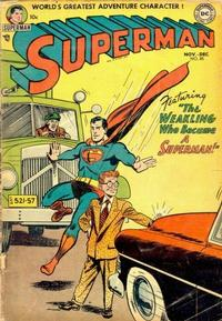 Cover for Superman (1939 series) #85