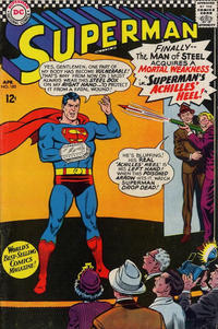 Cover Thumbnail for Superman (DC, 1939 series) #185