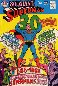 Cover Thumbnail for Superman (DC, 1939 series) #207