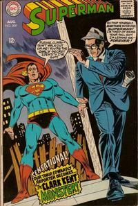 Cover Thumbnail for Superman (DC, 1939 series) #209