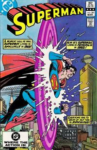 Cover Thumbnail for Superman (DC, 1939 series) #381 [Direct-Sales]