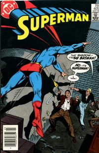 Cover Thumbnail for Superman (DC, 1939 series) #405