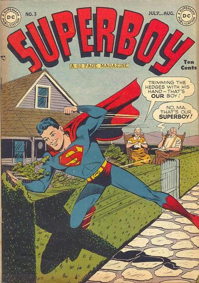 Cover for Superboy (DC, 1949 series) #3