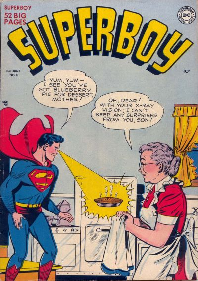 Cover for Superboy (1949 series) #8