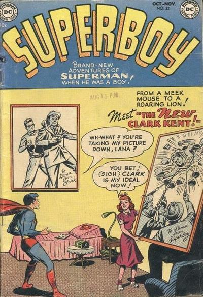 Cover for Superboy (1949 series) #22