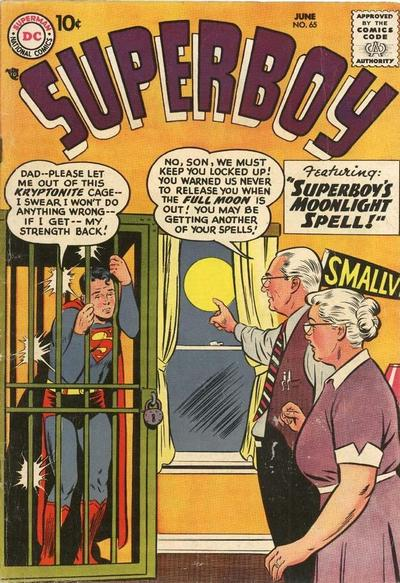 Cover for Superboy (1949 series) #65