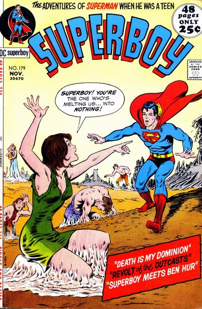Cover for Superboy (1949 series) #179