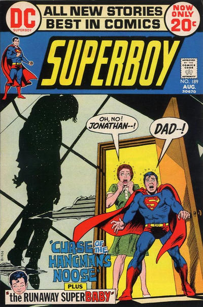 Cover for Superboy (1949 series) #189