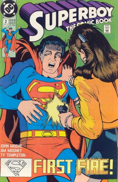 Cover for Superboy (DC, 1990 series) #2