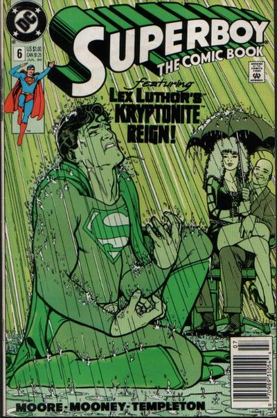 Cover for Superboy (DC, 1990 series) #6 [Newsstand Edition]