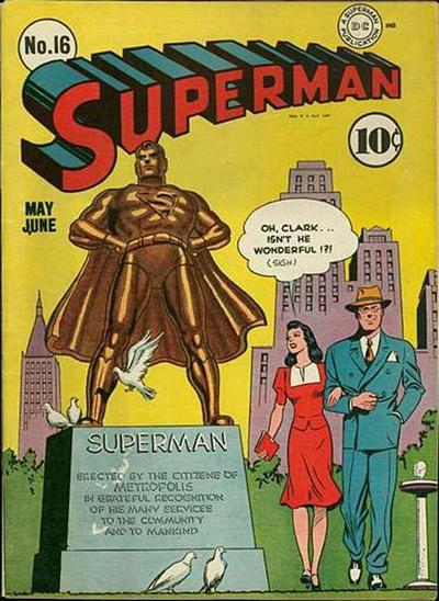 Cover for Superman (1939 series) #16