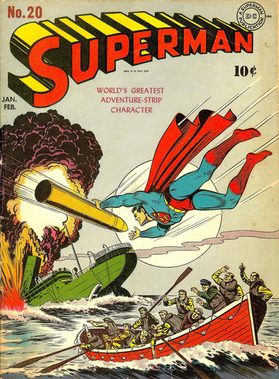 Cover for Superman (DC, 1939 series) #20