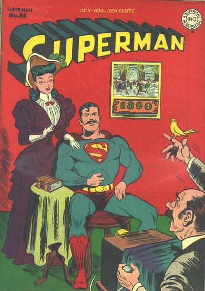 Cover for Superman (DC, 1939 series) #35