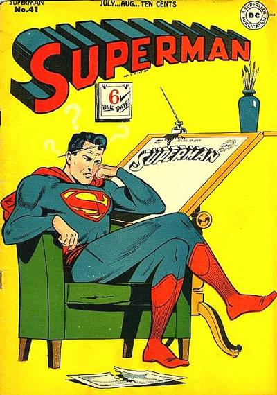 Cover for Superman (1939 series) #41