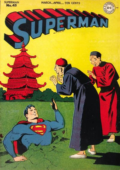 Cover for Superman (1939 series) #45