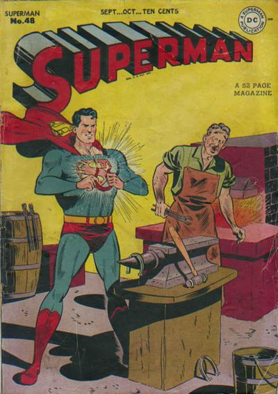 Cover for Superman (1939 series) #48
