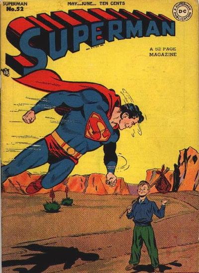 Cover for Superman (DC, 1939 series) #52