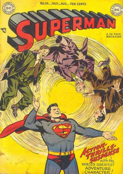 Cover for Superman (DC, 1939 series) #59