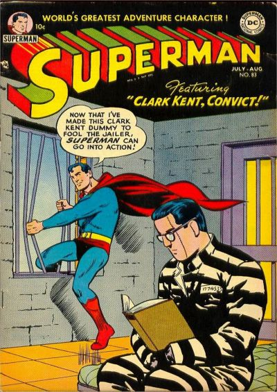 Cover for Superman (1939 series) #83
