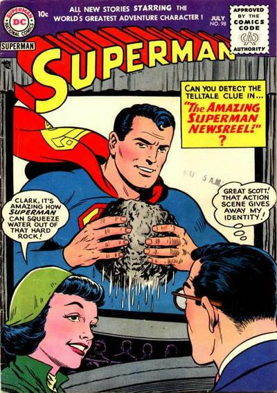 Cover for Superman (DC, 1939 series) #98