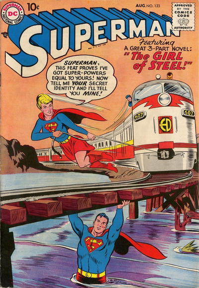 Cover for Superman (1939 series) #123