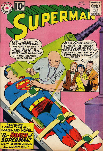 Cover for Superman (DC, 1939 series) #149
